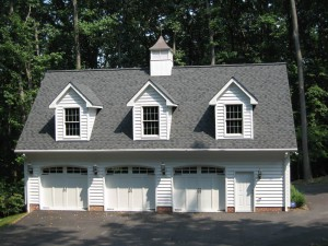 Custom design garage contractor in Howard County
