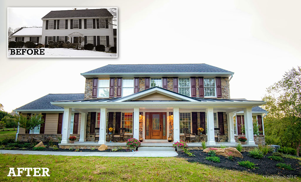Before And After Exterior Renovation