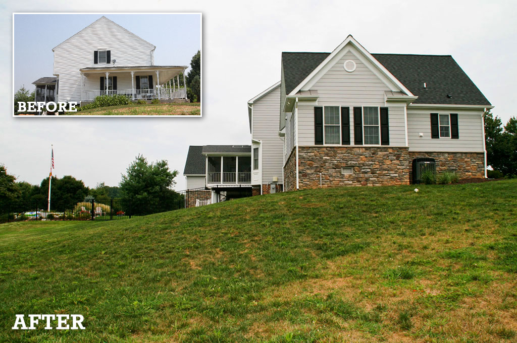 Howard county home exterior renovations company for Exterior home renovations