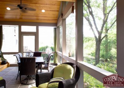 Columbia Screened-In Porch