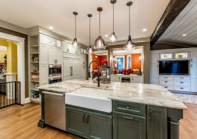 Ellicott City Traditional Farmhouse Kitchen
