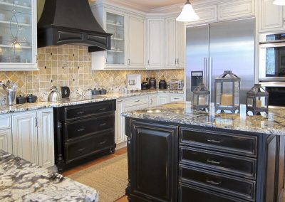 Marriottsville Kitchen and Family Room